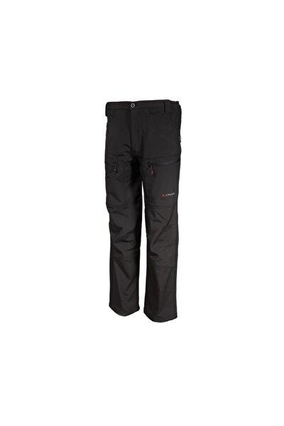Erkek  Siyah Softshell Outdoor Pantolon