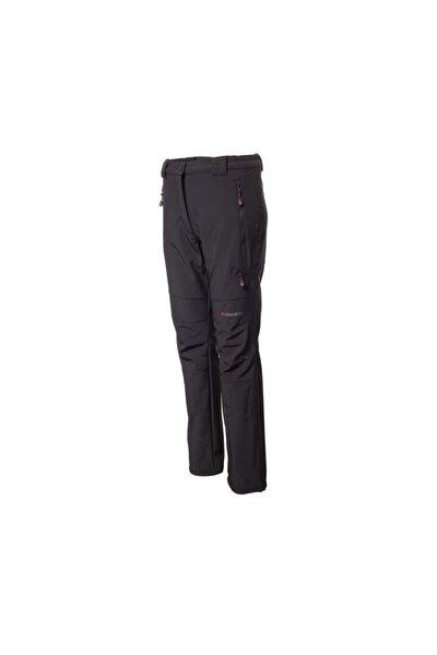 Kadın Siyah Softshell Outdoor  Pantolon