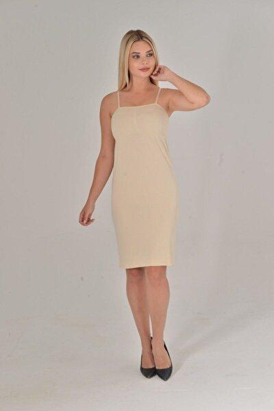 Kadın Ten Renk Elbise İçi Kombinezon