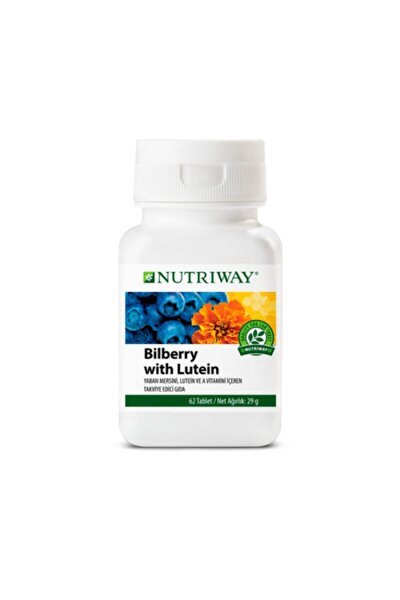 Bilberry With Lutein Nutrıway 62 Tablet