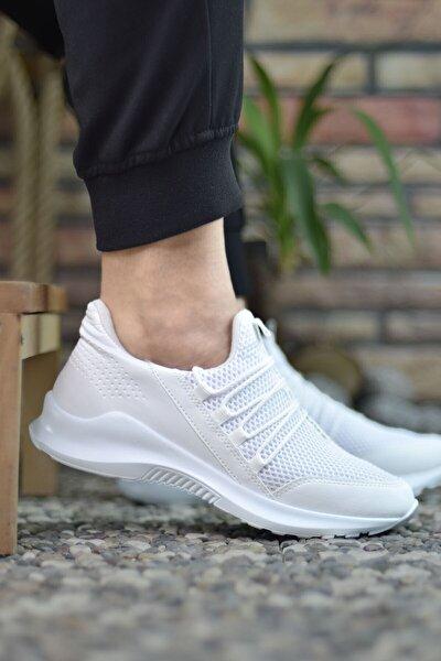 Erkek Beyaz Sneaker 0012180