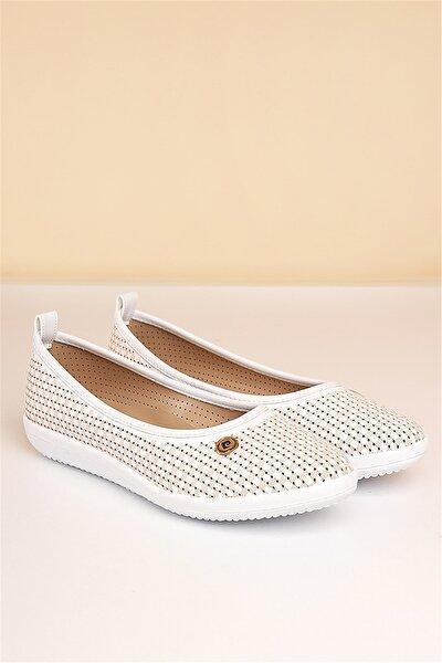 PC-50094 Beyaz Kadın Ayakkabı