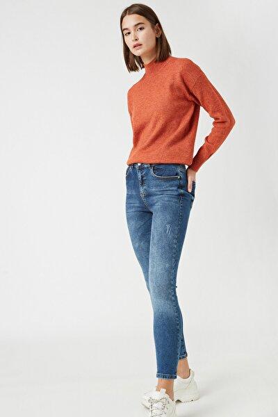 Kadın Mıd Indıgo Jeans 1KAK47361MD