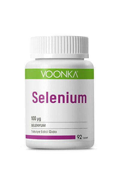 Selenium 100 mg 92 Kapsül