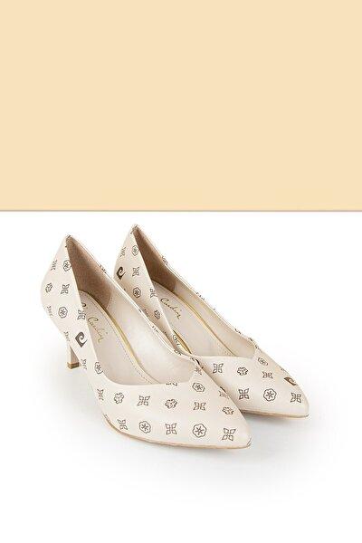 PC-50179 Bej-Kahve Kadın Ayakkabı