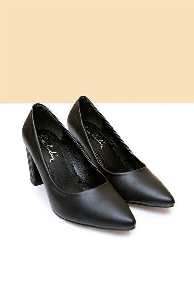Pc-50741 Siyah Kadın Ayakkabı