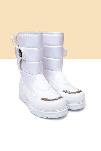 Kadın Beyaz Bot Pc-50537 - 3256-19