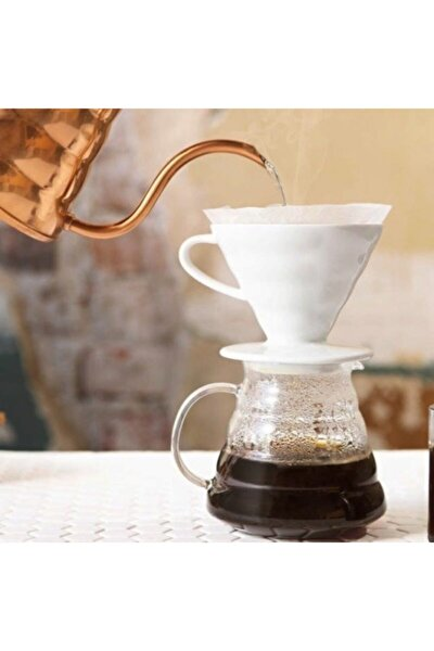 V60 Filtre Kahve Demleme Seti - Mini/ Pour Over Dripper Set - Mini