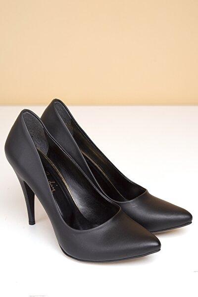 PC-50180 Siyah Kadın Ayakkabı