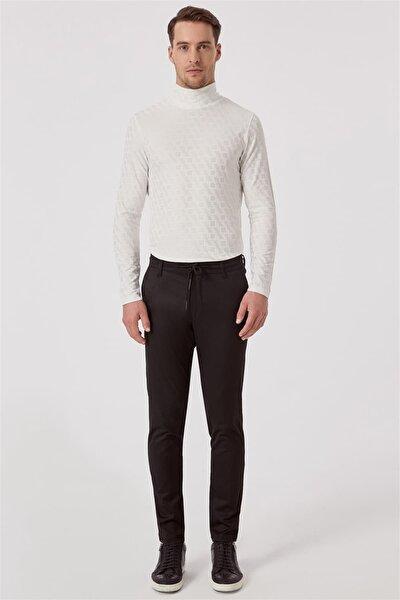 ATP 015 Rahat Kesim Siyah Spor Pantolon