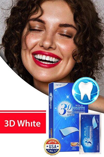 3 Adet Diş Beyazlatma Bandı 3D White Professional Effects Diş Beyazlatma Bantları 8133458903553