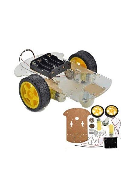 2wd Araç Şase Kiti Robot Araba Kiti 2wd Robot Kit