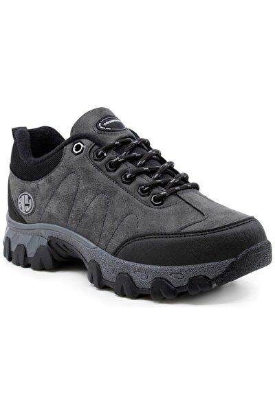 Erkek Gri Adventureus Su Ve Soğuk Dayanıklı Memory Rahat Taban Ayakkabı Bot