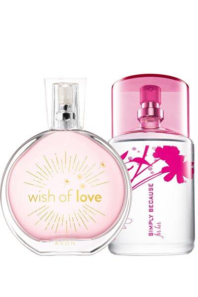 Wish Of Love Ve Simply Because Kadın Parfüm Paketi