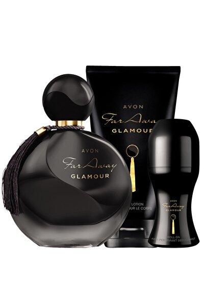 Far Away Glamour Parfüm Vücut Losyonu Rollon Paketi