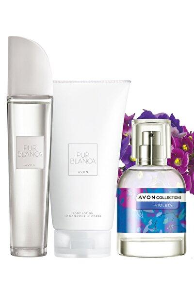 Pur Blanca Parfüm Vücut Losyonu Ve Violeta Kadın Parfüm Paketi 8681298707127