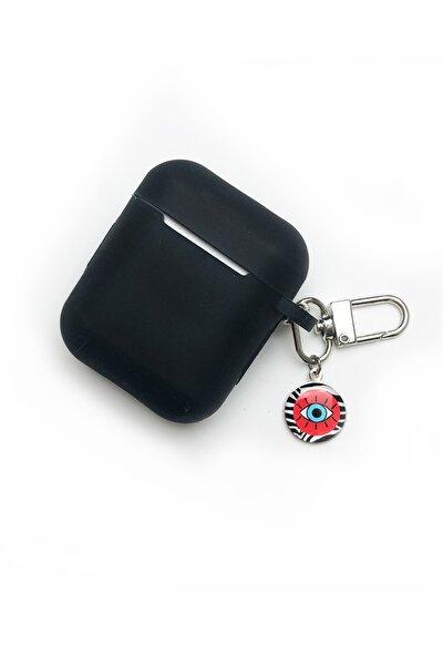 - Siyah Apple Airpods Yumuşak Silikon Kılıf