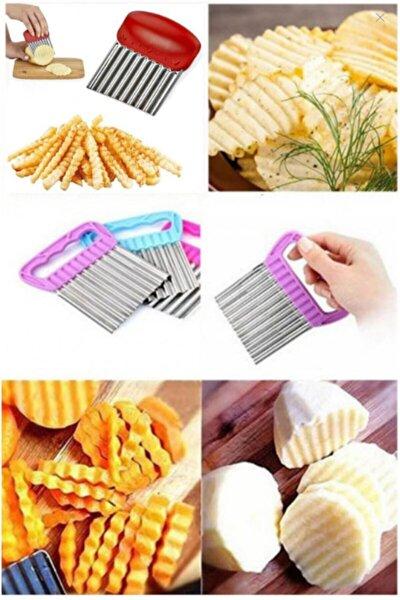 Chips Chopper Şekilli Sebze Ve Meyve Dilimleyici