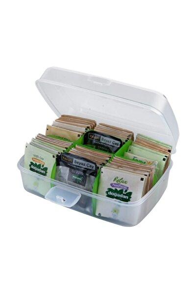 Çay Saklama Kutusu Hediyeli Doğadan Karışık Bardak Poşet Çay Bitki Çayı 36 Lı Set Hediye