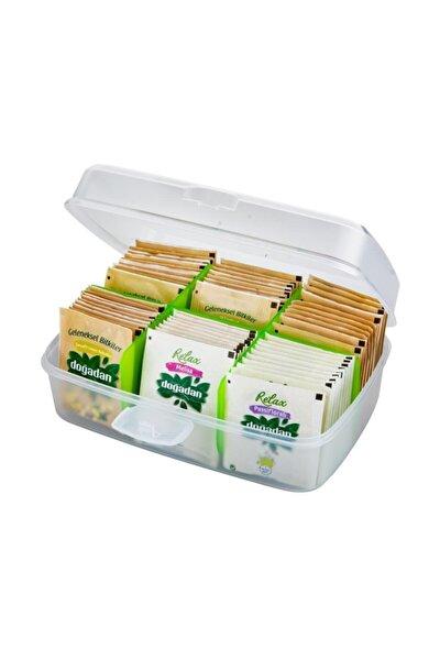 Çay Saklama Kutusu Hediyeli Doğadan Relax Bardak Poşet Çay 36 Lı Set Hediye
