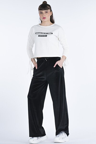 Kadife Kadın Pantolon 23271