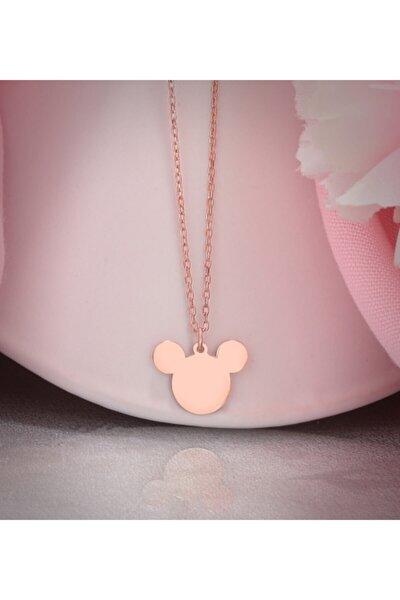 Mickey Mouse Gümüş Kolye