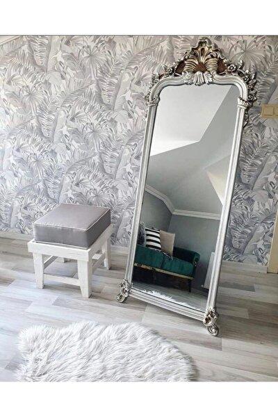 Varaklı Dekoratif Ayaklı Boy Aynası