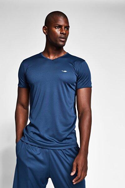 Erkek Safir Mavi T-shirt 20s-1221-20b