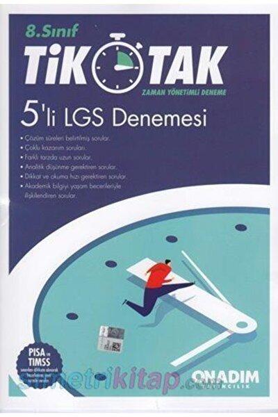 8.sınıf 5 Li Lgs Deneme ( Tik Tak ) - Onadım Yayıncılık