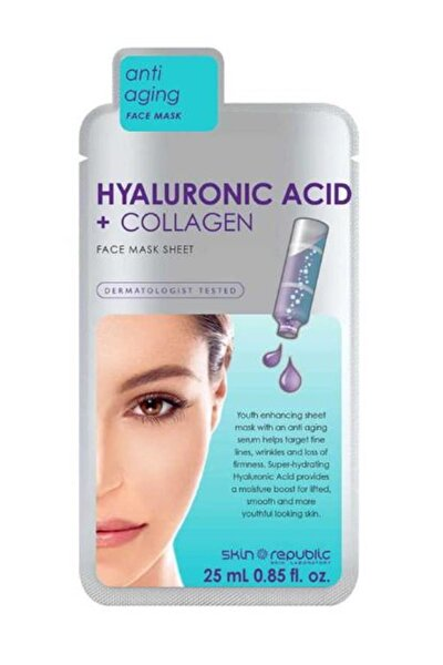 Hyaluronic Acid+collagen Maske 25 Ml