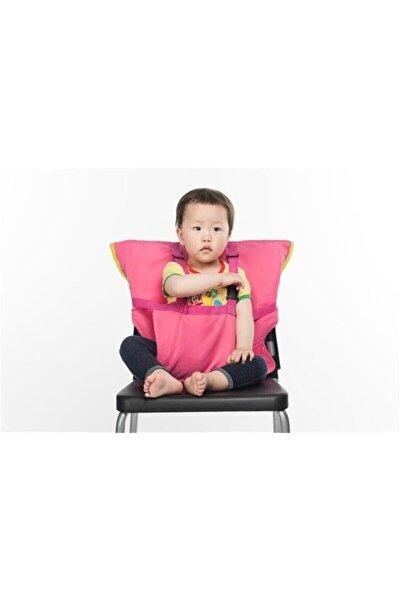 Çocuk Bebek Güvenli Mama Sandalyesi Emniyet Güvenlik Kemeri