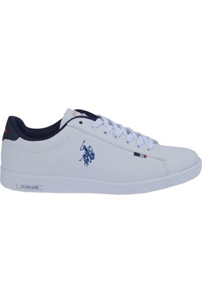 U.s. Polo Franco Dhm Beyaz Erkek Günlük Spor Ayakkabı