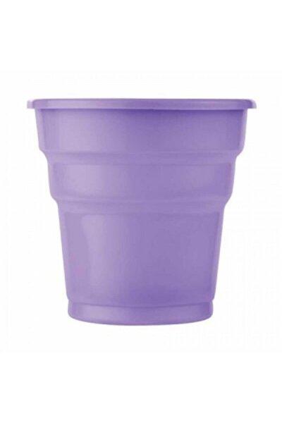 Lila Plastik Meşrubat Bardağı 25'li