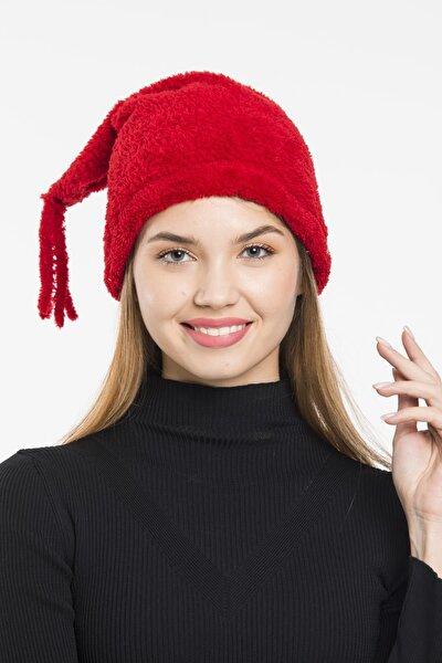 Kadın Peluş Şapka Kışlık Bere