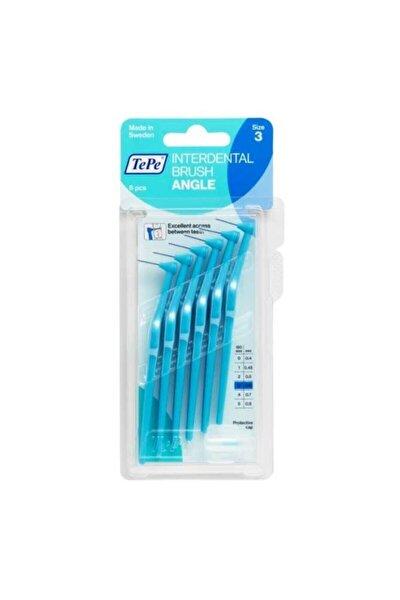 Angle Arayüz Fırçası Mavi 0,6 Mm 6 Adet