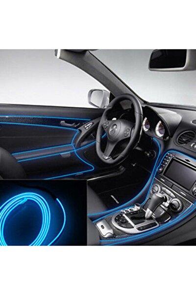 Araç Içi Neon Ledi Ip Led 5 Metre Mavi