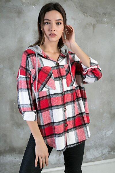 Kadın Kırmızı Oduncu Gömlek