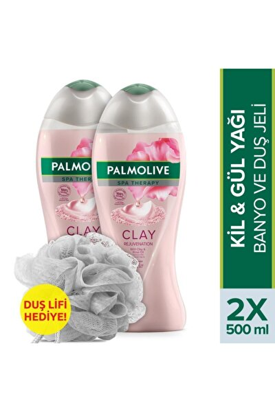 Spa Therapy Clay Rejuvenation Kil Duş Jeli 500 Ml X 2 Adet Lif Hediye