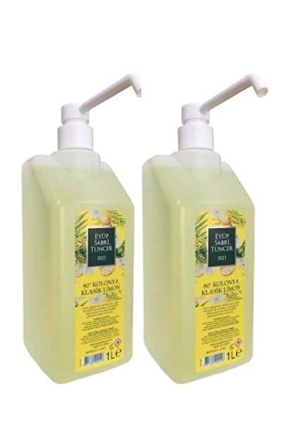 Kolonya Pvc 1 Lt Pompalı Limon 2 Adet