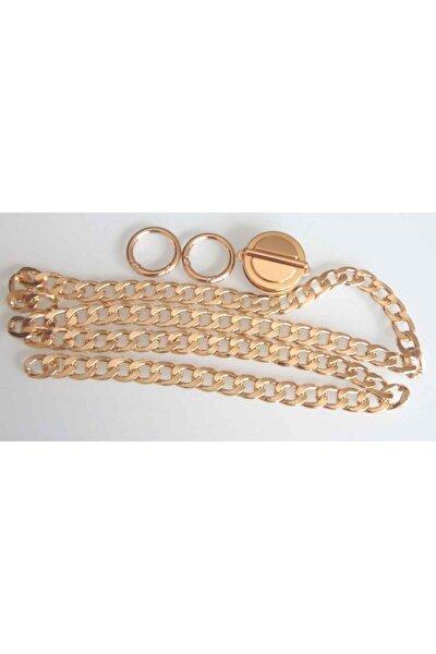 Light Gold Renk Zincir Set
