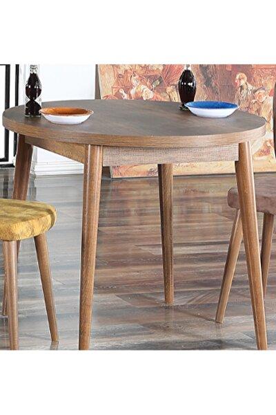 - Q90 Barok Yuvarlak Balkon Masası Cafe Masası