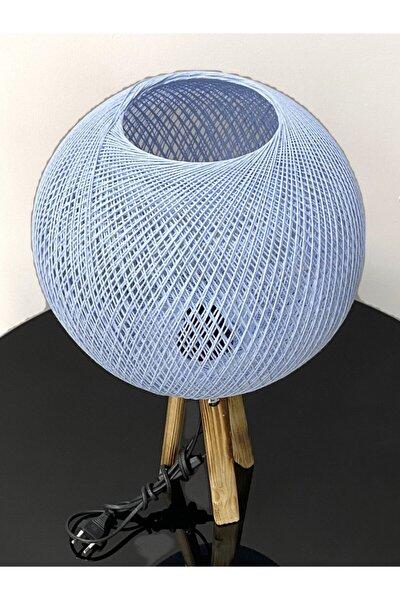 Abajur Balon Model Mavi Renk