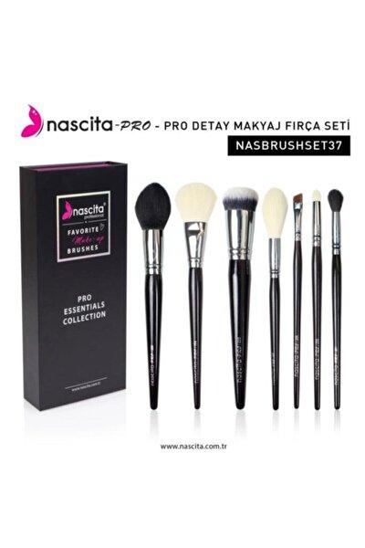 Pro Essentials Collection Makyaj Fırça Seti Nasbrushset37