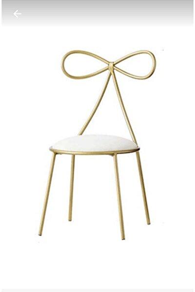 Fiyonk Gold Sandalye