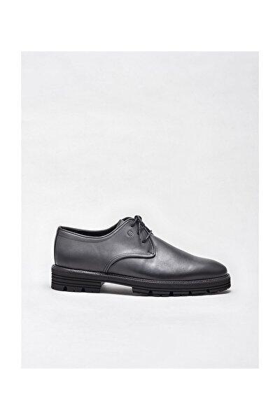 Antrasıt Deri Erkek Klasik Ayakkabı