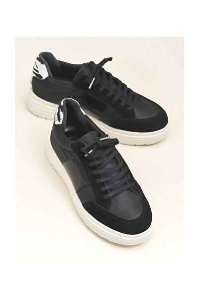 Siyah Kombin Kadın Spor Ayakkabı HANLEY