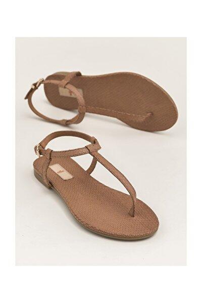 RADELLA Hakiki Deri Taba Kadın Sandalet 20YLT101119