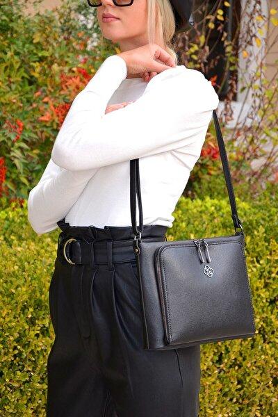 Kadın Siyah Omuz Çanta Soft Yeni Sezon