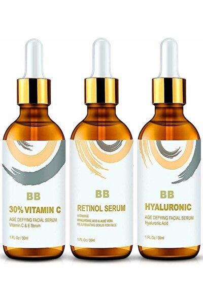 Vitamin C + Hyaluronic Acid + Retinol Serum