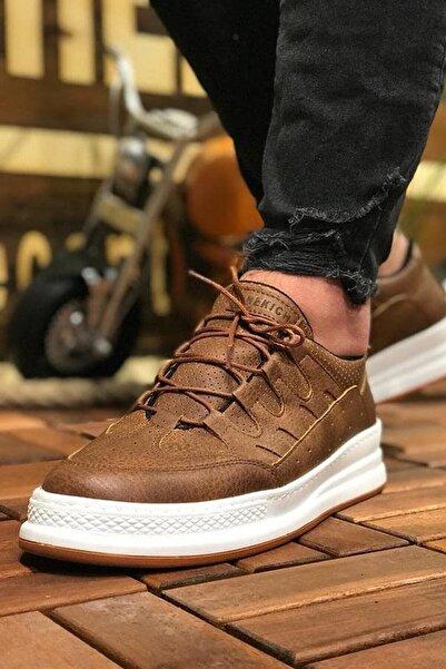 Erkek Taba Sneaker Ch040